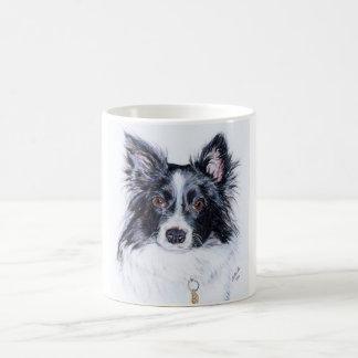 Border collie mug. coffee mug