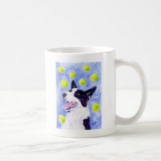 "Border Collie Mug - ""Magpie's Gold"""