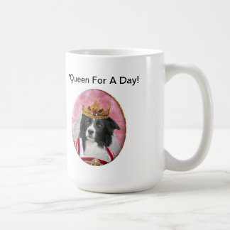 Border Collie Mug~Mother's Day~Queen