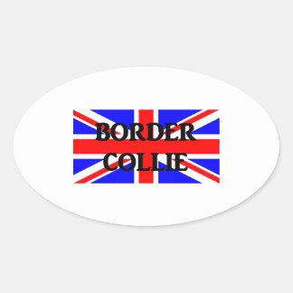 border collie name england United_Kingdom flag png Stickers
