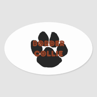 border collie name paw png stickers