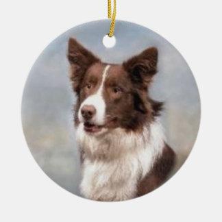 Border Collie Ornament