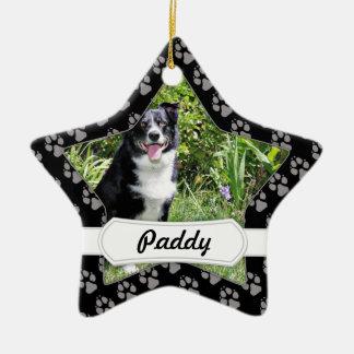 Border Collie - Paddy - Pasten Ceramic Ornament