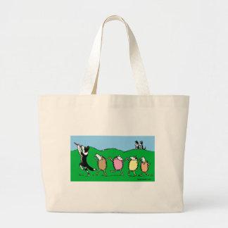 Border Collie Pied Piper Bag