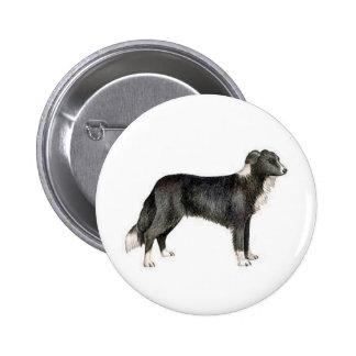 Border collie pin