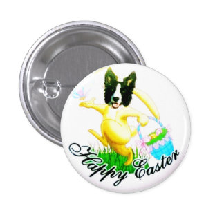 Border Collie Pin~Easter