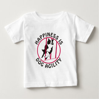 Border Collie Poles Agility Happiness Infant T-shirt
