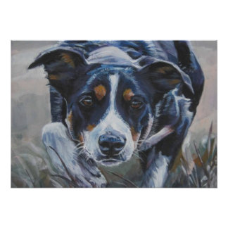 Border Collie Poster~Working Dog Poster