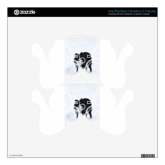 Border Collie PS3 Controller Decal