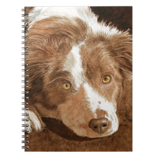 Border Collie Pup Notebook
