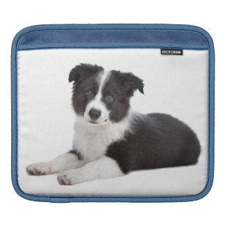 Border Collie Puppy Dog iPad Sleeve