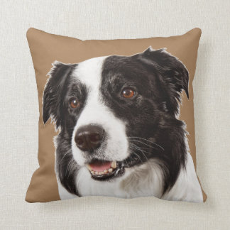Border Collie Puppy Dog Square Throw Cushion