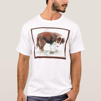 Border Collie Puppy & Grasshopper T-Shirt