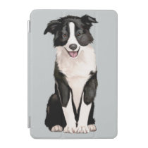 Border Collie Puppy iPad Mini Cover