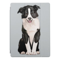 Border Collie Puppy iPad Pro Cover