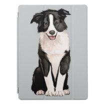 Border Collie Puppy iPad Pro Cover