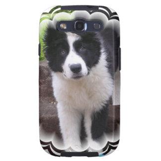 Border Collie Puppy Samsung Galaxy Case Samsung Galaxy S3 Cases