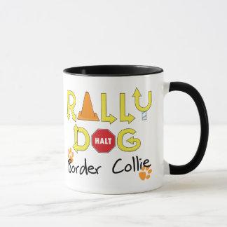 Border Collie Rally Dog Mug