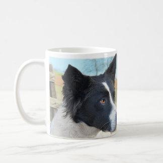 Border Collie Ranch Dog Classic White Coffee Mug