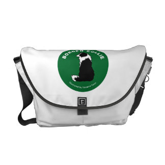 Border Collie Rickshaw Medium Zero Messenger Bag