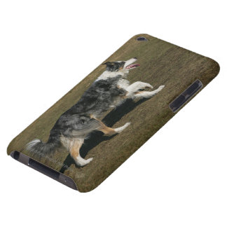 Border Collie Running 1 Barely There iPod Cover