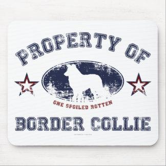 Border collie alfombrillas de ratones