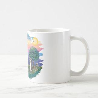 Border collie tazas de café