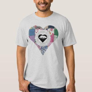 Border Collie Tee~Old Timey Valentine T-Shirt