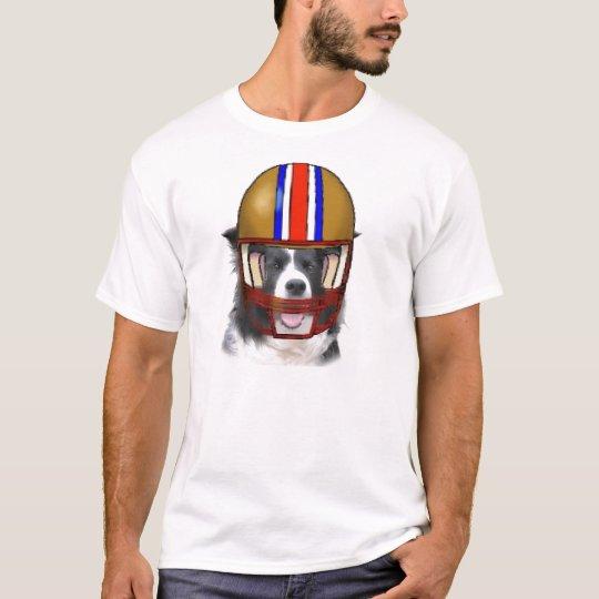 Border Collie Thanksgiving Tee~Football T-Shirt