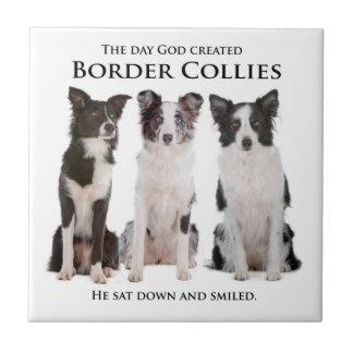 Border Collie Tile