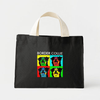 BORDER COLLIE TINY TOTE