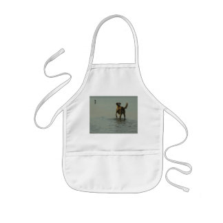 Border Collie - Tipper and Seagull Kids' Apron