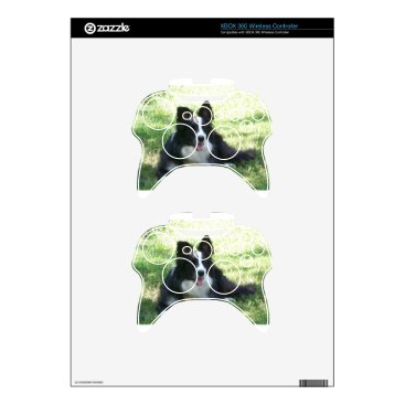 Coffee Themed Border Collie Tshirts Xbox 360 Controller Decal