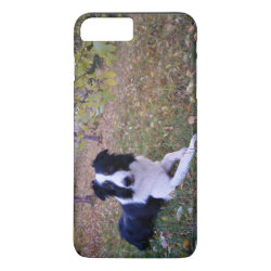 Case-Mate Tough iPhone 7 Plus Case with Collie Phone Cases design