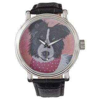 Border Collie Wrist Watch