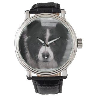 Border Collie Wrist Watches