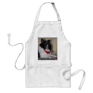 """Border Collie """"Wylie"""" Adult Apron"""