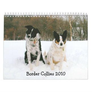 Border Collies 2010 Calendar