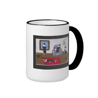 Border collies home alone mug