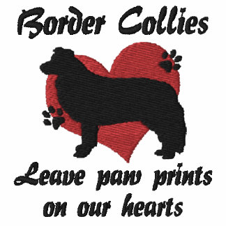 Border Collies Leave Paw Prints