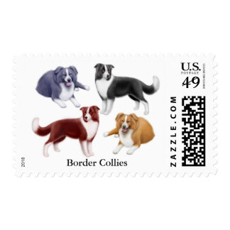 Border Collies Postage