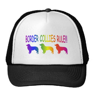 Border Collies Rule Trucker Hat