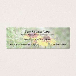 Border Garden Rudbeckias Mini Business Card