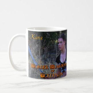Border Guardians of Ackernon character mug-Kara Classic White Coffee Mug