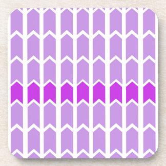 Border Lavender Panel Fence Coaster