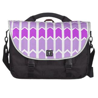 Border Lavender Panel Fence Laptop Bag