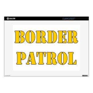 """BORDER PATROL 15"""" LAPTOP SKINS"""
