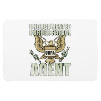 Border Patrol Agent Faded png Vinyl Magnet