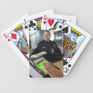 Border Patrol Bicycle Playing Cards