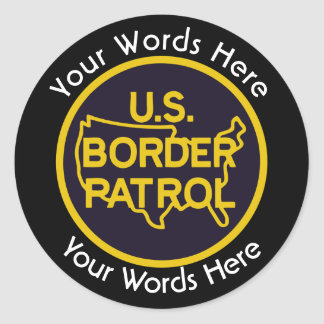 Border Patrol Custom Sticker